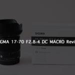 SIGMA 17-70mm F2.8-4 DC MACRO を購入致しました!