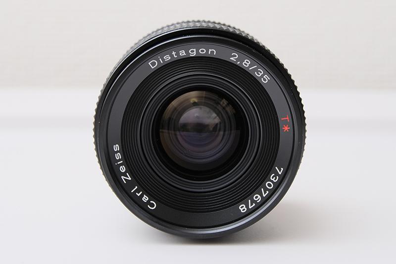 [レビュー] CONTAX Carl Zeiss Distagon 35mm F2.8 MMJ