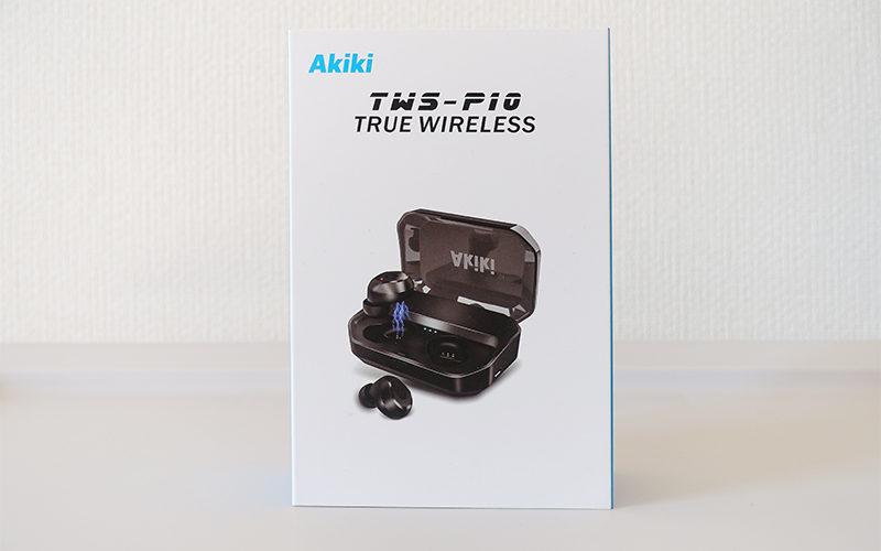 [レビュー] 格安ワイヤレスイヤホン Akiki TWS-P10 がとても便利だった話。