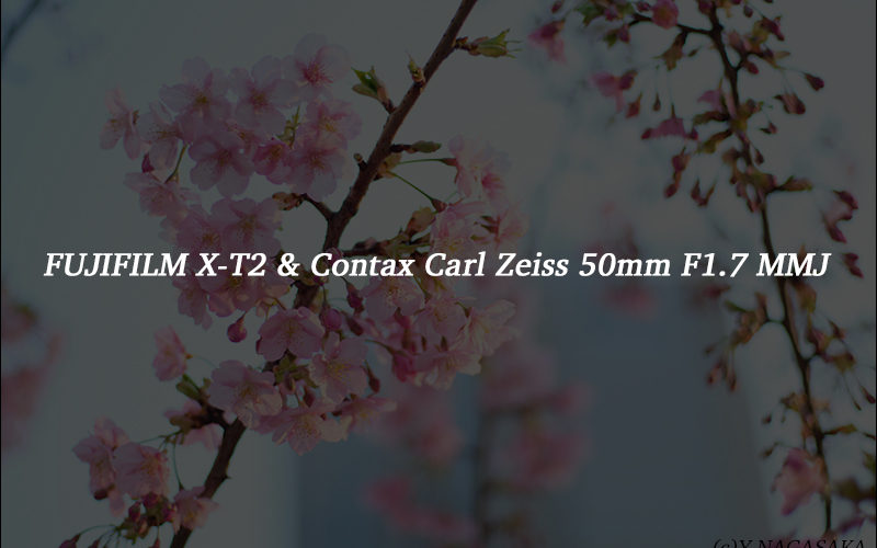 [レビュー] FUJIFILM X-T2 & Contax Carl Zeiss 50mm F1.7 MMJ
